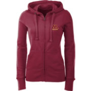 Antigua Women's Minnesota Golden Gophers Maroon Full-Zip Hoodie