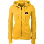 Antigua Women's Missouri Tigers Gold Full-Zip Hoodie