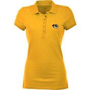 Antigua Women's Missouri Tigers Gold Spark Polo