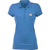 Antigua Women's North Carolina Tar Heels Carolina Blue Spark Polo
