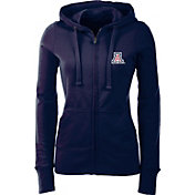 Antigua Women's Arizona Wildcats Navy Full-Zip Hoodie