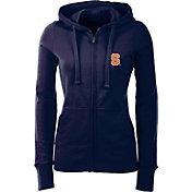 Antigua Women's Syracuse Orange Full-Zip Blue Hoodie