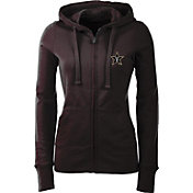 Antigua Women's Vanderbilt Commodores Black Full-Zip Hoodie