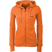 Antigua Women's Virginia Cavaliers Orange Full-Zip Hoodie