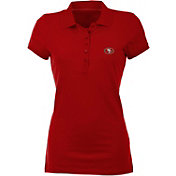 Antigua Women's San Francisco 49ers Red Spark Polo
