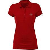 Antigua Women's San Francisco 49ers Red Spark Polo
