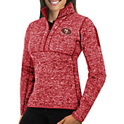 Antigua Women's San Francisco 49ers Fortune Red Pullover Jacket