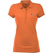 Antigua Women's Denver Broncos Orange Spark Polo