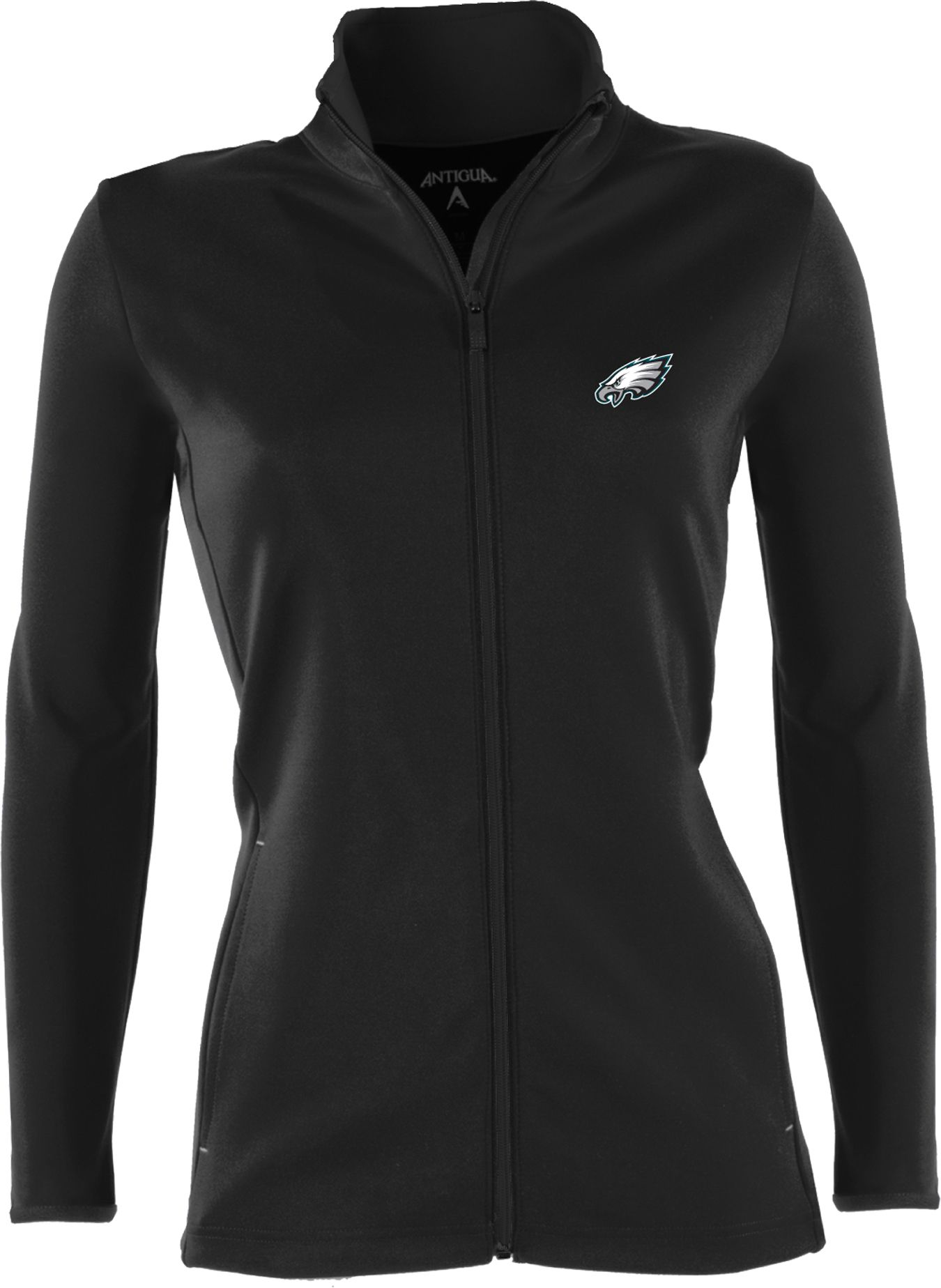 Antigua Women's Philadelphia Eagles Leader Black Full-Zip Jacket. 0:00.  0:00 / 0:00. noImageFound ???