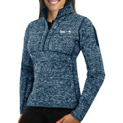Antigua Women's Seattle Seahawks Fortune Navy Pullover Jacket