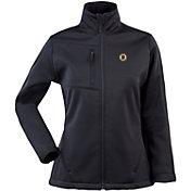 Antigua Women's Boston Bruins Traverse Soft Shell Full-Zip Black Jacket