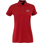 Antigua Women's Washington Capitals Red Spark Polo