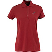 Antigua Women's Arizona Coyotes Red Spark Polo