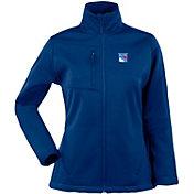 Antigua Women's New York Rangers Traverse Soft Shell Full-Zip Royal Jacket