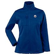 Antigua Women's New York Islanders Traverse Soft Shell Full-Zip Royal Jacket