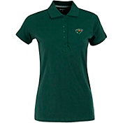 Antigua Women's Minnesota Wild Green Spark Polo