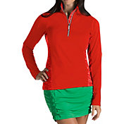 Antigua Women's Sterling Half-Zip Golf Pullover
