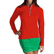 Antigua Women's Sterling Half-Zip Golf Pullover