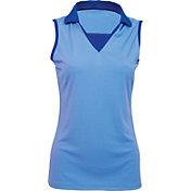 Antigua Women's Premium Sleeveless Golf Polo