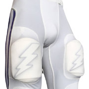 treDCAL Lightning Bolt Thigh Pad Football Decals