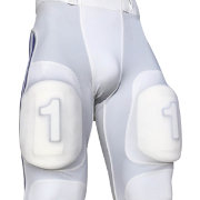 treDCAL Number One Thigh Pad Football Decals