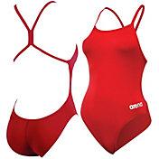 arena Girls' Mast Lightech Back Swimsuit