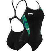 arena Women's Carbonite Light Drop Back Swimsuit