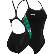 arena Women's Carbonite Light Drop Back Swimsuit