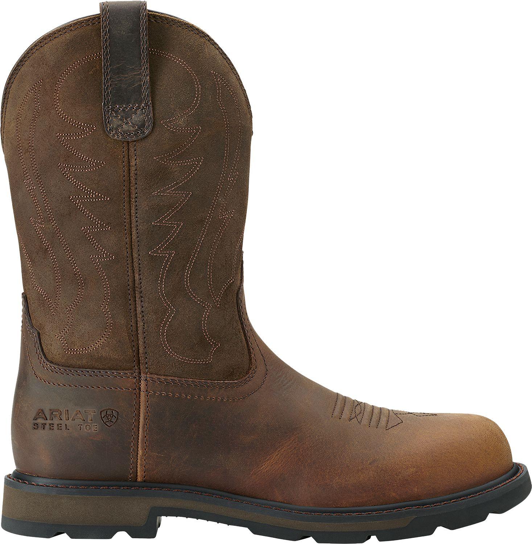 Men's Ariat Groundbreaker Pull On Steel Toe Work Boots wide range of cheap online clearance 2015 kFFeuvU4L