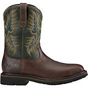 Ariat Men's Sierra Square Steel Toe Western Work Boots