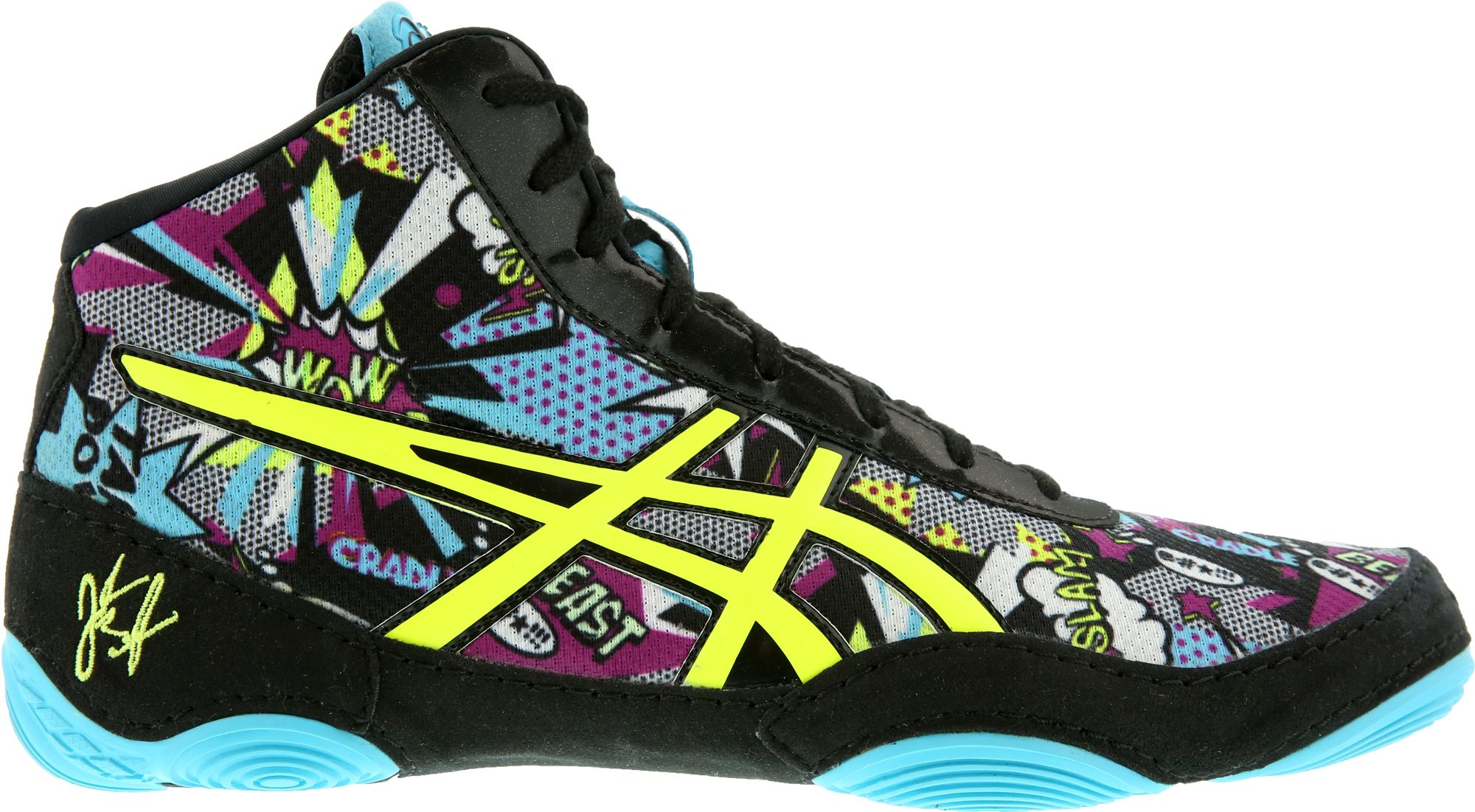 ASICS Kids' JB V2.0 Cartoon Wrestling Shoes| DICK'S Sporting Goods