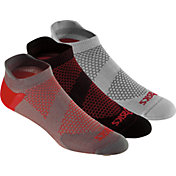 ASICS Men's Lightweight No Show Athletic Socks 3 Pack