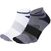 ASICS Men's Quick Lyte Cushion Tab Socks 2 Pack