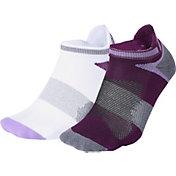 ASICS Women's Quick Lyte Cushion Tab Socks 2 Pack