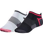 ASICS Women's Quick Lyte Tab Socks 2 Pack