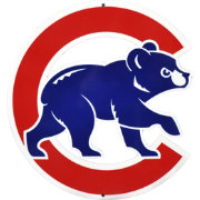 Authentic Street Signs 2016 World Series Champions Chicago Cubs Steel Walking Bear Sign