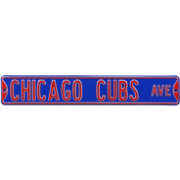 Authentic Street Signs Chicago Cubs Avenue Sign