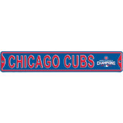 Authentic Street Signs 2016 World Series Champions Chicago Cubs Street Sign