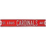Authentic Street Signs St. Louis Cardinals Avenue Sign