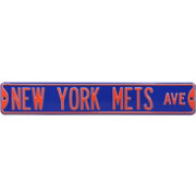 Authentic Street Signs New York Mets Avenue Blue Sign