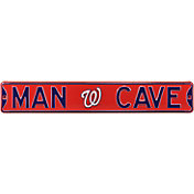 Authentic Street Signs Washington Nationals 'Man Cave' Street Sign