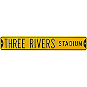 Authentic Street Signs Three Rivers Stadium Street Sign