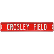 Authentic Street Signs Crosley Field Street Sign