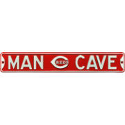 Authentic Street Signs Cincinnati Reds 'Man Cave' Street Sign