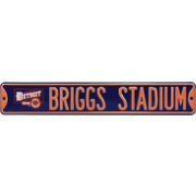 Authentic Street Signs Detroit Tigers 'Briggs Stadium' Street Sign