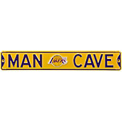 Authentic Street Signs Los Angeles Lakers 'Man Cave' Street Sign