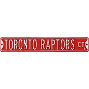 Authentic Street Signs Toronto Raptors Court Sign