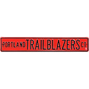 Authentic Street Signs Portland Trail Blazers Court Sign