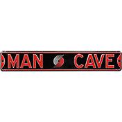Authentic Street Signs Portland Trailblazers 'Man Cave' Street Sign