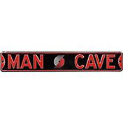 Authentic Street Signs Portland Trailblazers 'Man Cave' Street Sign